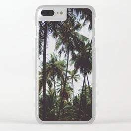 FOREST - PALM - TREES - NATURE - LANDSCAPE - PHOTOGRAPHY Clear iPhone Case