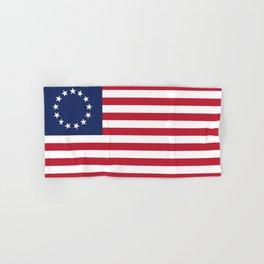 Betsy Ross USA flag Hand & Bath Towel