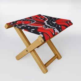red monarch Folding Stool
