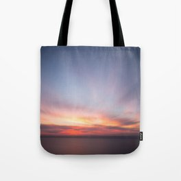 Malibu Sunrise C3 - California Ocean Sunrise Tote Bag