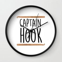 Captain Hook Wall Clock
