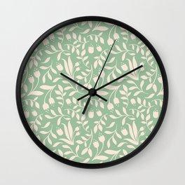 Floral Dos Wall Clock