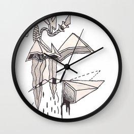 Fuk Shapes Wall Clock