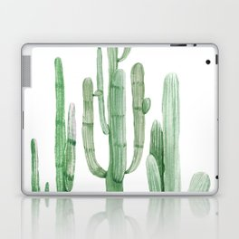 Three Amigos White + Green by Nature Magick Laptop & iPad Skin