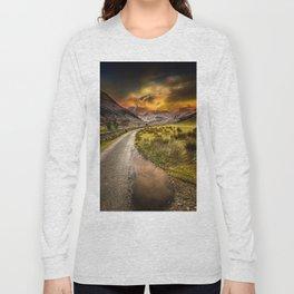 Valley Sunset Snowdonia Long Sleeve T-shirt