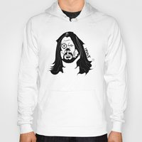 dave grohl Hoodies featuring Grohl XrayT by Xray T