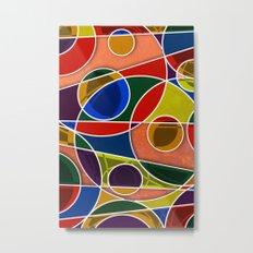 Abstract #322 Gyroscopic Metal Print