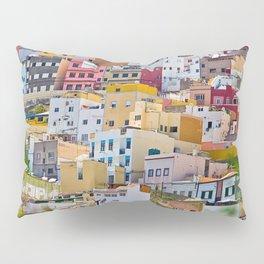 Edificios Colores Las Palmas Pillow Sham