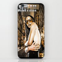 aaliyah iPhone & iPod Skins featuring Street Phenomenon Aaliyah by D77 The DigArtisT
