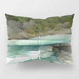 Abstract Landsape Pillow Sham