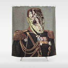 Venomous Emperor Shower Curtain