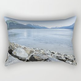 Along the Turnagain Arm, No. 2 Rectangular Pillow