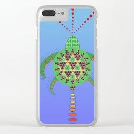La tortuga boba (Caretta caretta) Clear iPhone Case