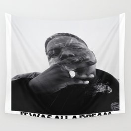 Notorious B.I.G print Wall Tapestry