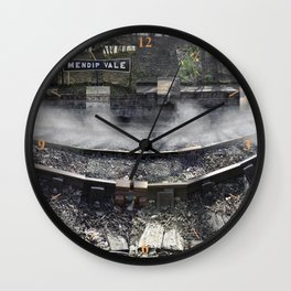 Ghosts of a Railway Wall Clock