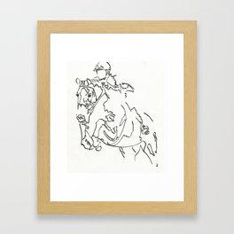Hunter 1 Framed Art Print