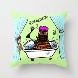 EXFOLIATE! Throw Pillow