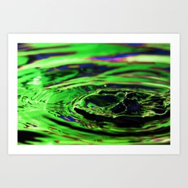 Disgust - Emotions Water Drop Photography Art Print