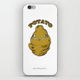 POTATO  iPhone Skin