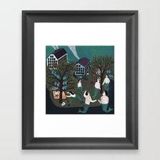 Oceantown Framed Art Print