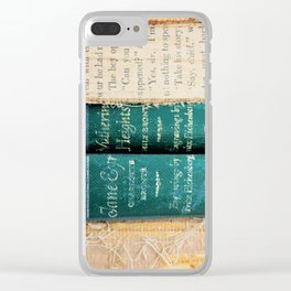 Jane Eyre / Wuthering Heights Clear iPhone Case