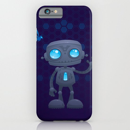 Waving Robot iPhone & iPod Case