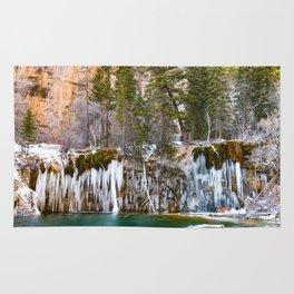 Hanging Lake Winter Rug