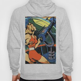 Comic Girl - 5 Pop Hoody