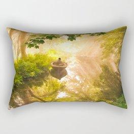Alone Time Magic Rectangular Pillow