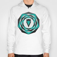 arya Hoodies featuring Decahedron Hexagon combined! by Hinal Arya