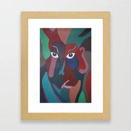 Abstract God Framed Art Print