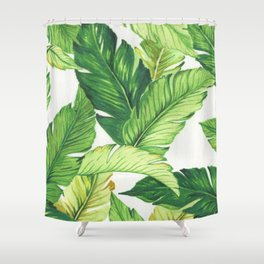 BANANA JUNGLE Shower Curtain