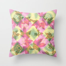 Leaves 02 Throw Pillow