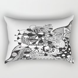 HUNGRY EYES Rectangular Pillow