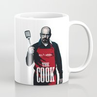 cook Mugs featuring The Cook by Step.