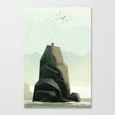 One Of The Flock Canvas Print