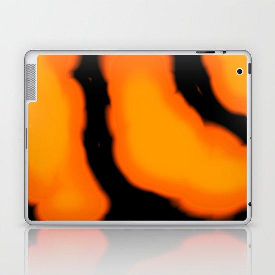 Halloween colors Laptop & iPad Skin