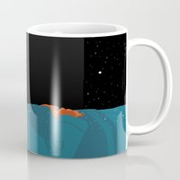 2001 Mugs featuring 2001: A Space Odyssey  by Stephanie Shafer