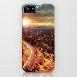 Billings Montana 2 iPhone Case