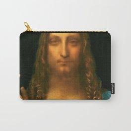 "Leonardo da Vinci ""Salvator Mundi"" Carry-All Pouch"
