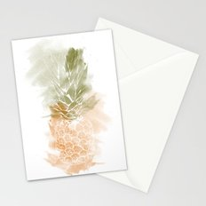 Pineapple vibes Stationery Cards