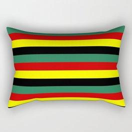 ghana flag stripes Rectangular Pillow