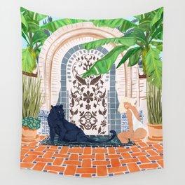 Frienaissance #painting #wildlife #illustration Wall Tapestry