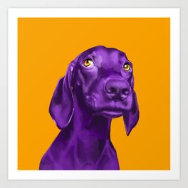 The Dogs: Guy 4 Art Print