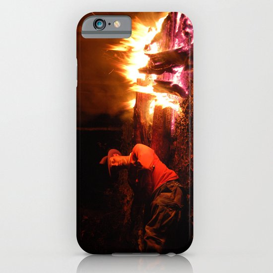 snow fire iPhone & iPod Case