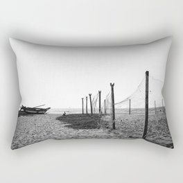 Negombo Beach Nets Rectangular Pillow
