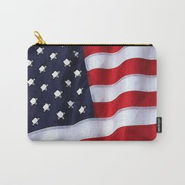 Fancy Flag:  USA 2 Carry-All Pouch