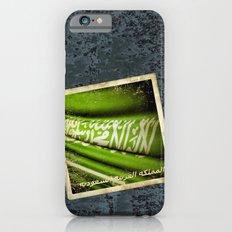 Grunge sticker of Kingdom of Saudi Arabia flag Slim Case iPhone 6s