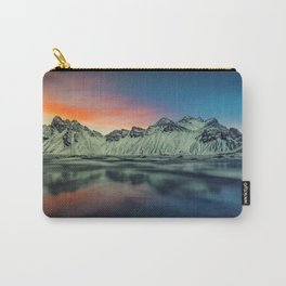 Beautiful Sunset At Vestrahorn Mountains Stokksnes Iceland Ultra HD Carry-All Pouch