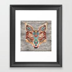 Zorro! (Bohemian Fox) Framed Art Print